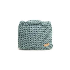 Kisméretű horgolt táska - basic perzsazöld | ZS5001