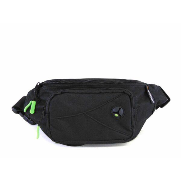 AdventureR övtáska - fekete-zöld | 9131