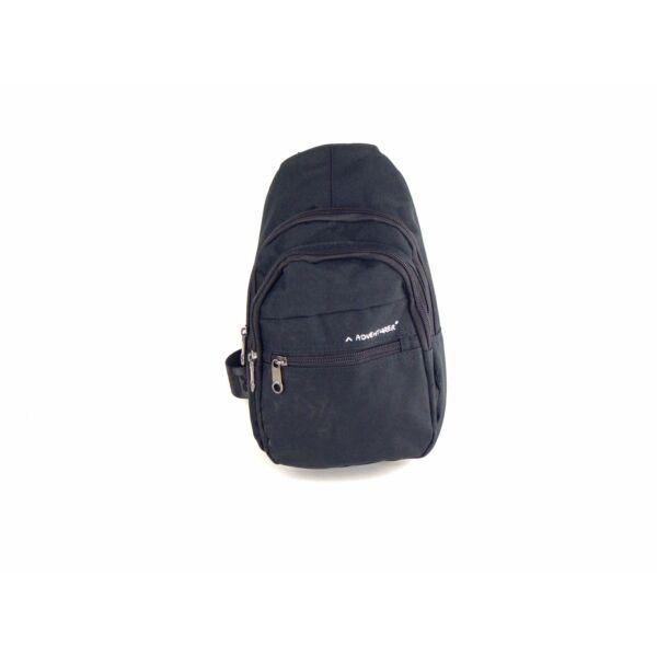 AdventureR keresztpántos crossbody táska - fekete | 5227