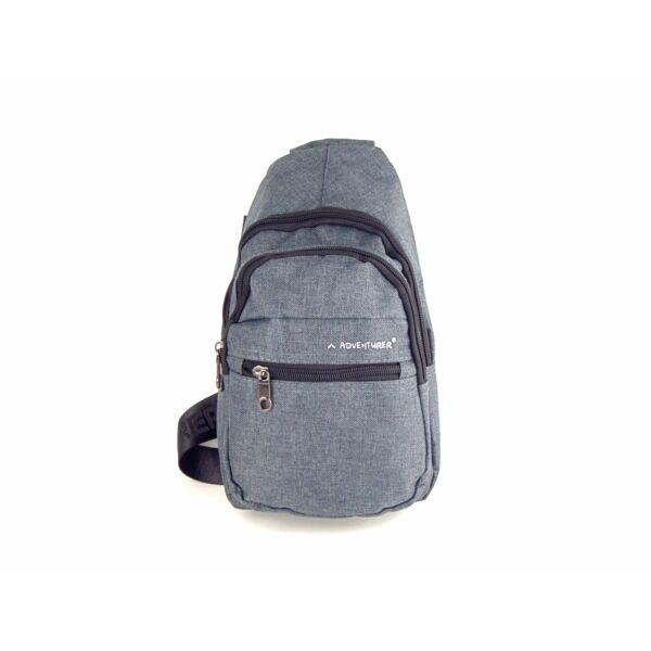 AdventureR keresztpántos crossbody táska - szürke | 5227