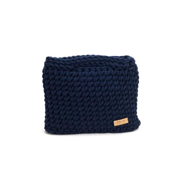Kisméretű horgolt táska - basic oxford kék | ZS5001